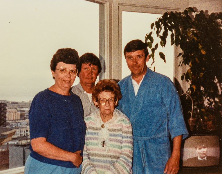 Kathy, Russ, Paul and Nana Lamson
