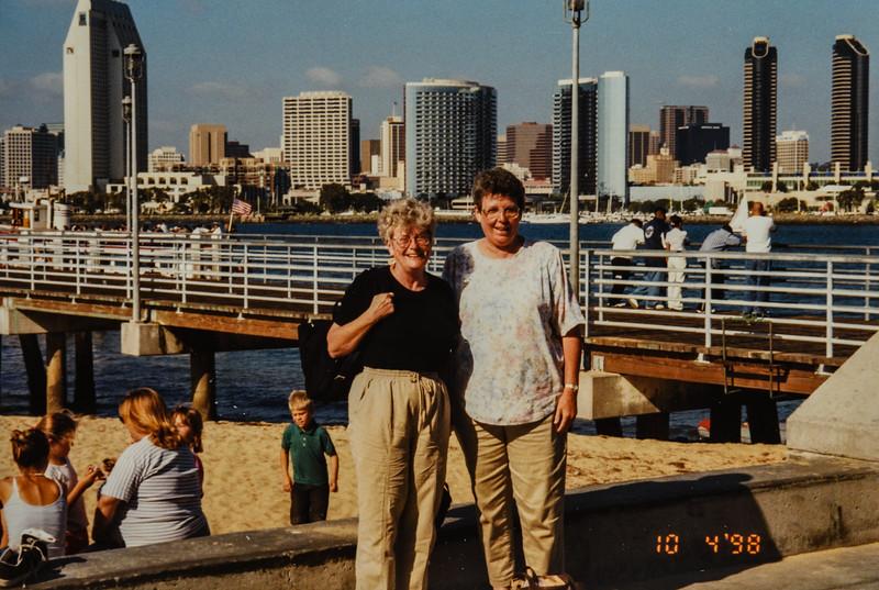 Di and Kathy 1998