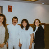 Jackie's baptism Feb. 16th. Garnette her husband was baptized last summer. 1995. Kristen Jarvie