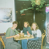 Warren, Childress, and I (Sara) at TCBY Our own Family Home Evening BSU 1995