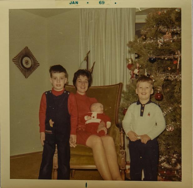 Bobby (in Texas) Stephan 3 mo John Christmas Day 1969 Rockville, Maryland