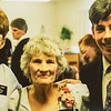 Sara, Fay, Scotty at Merl's funeral 1995