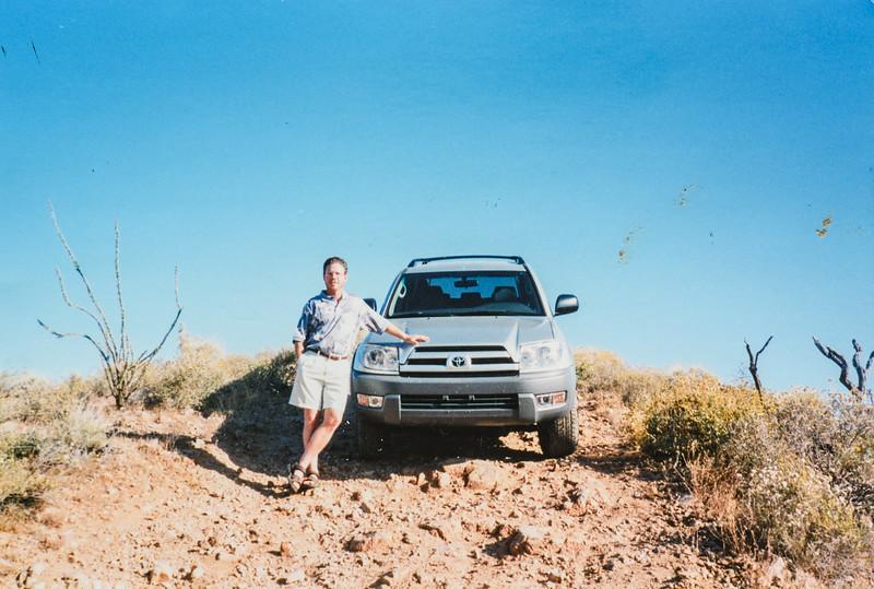 4 wheeling with Matt in AZ 2003