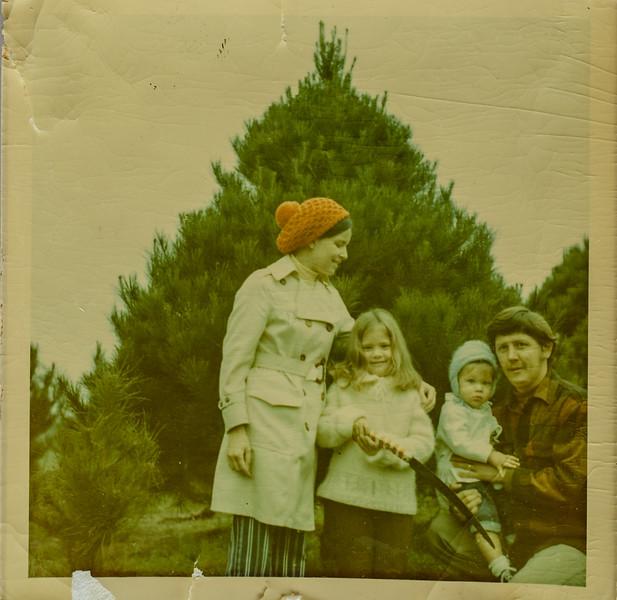 Russ C. Lamson, Gerri Lamson, Heidi- 5 years, Russ R- 18 mo 1970