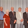 Thearn, Fay, Scott, Jack and Ronald Jarvie at Kristen's wedding 2001