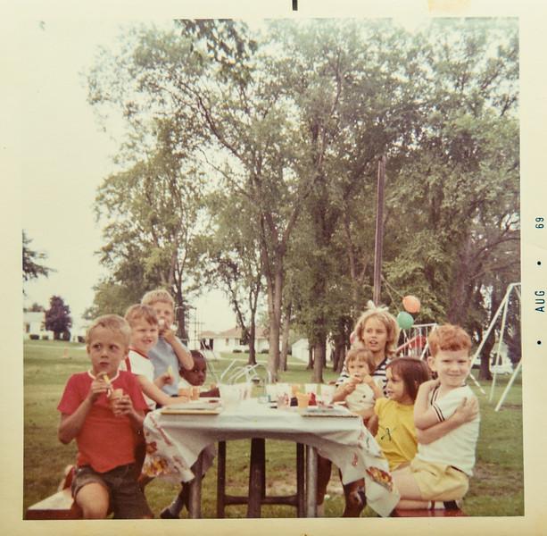 Matt's birthday at Miller park 1969