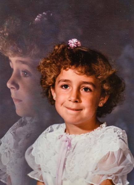Mariah Marlene Jarvie 1988, 1st grade, 7 years old