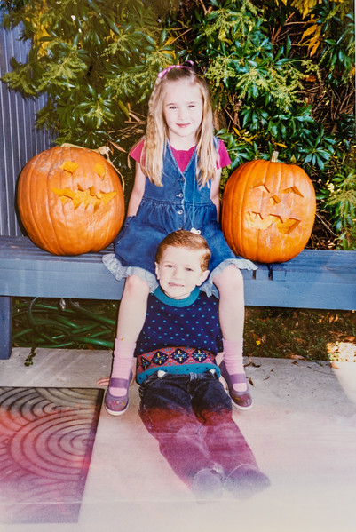 I love this picture! They are so sweet! I'm so glad we have them. Micheala and Remington Jarvie October 1994