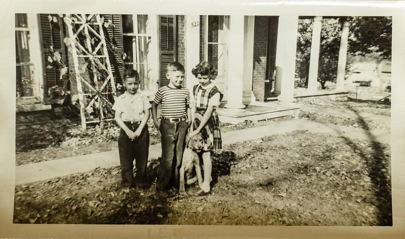 Paul, Russ, Kathy LAmson and Romeo