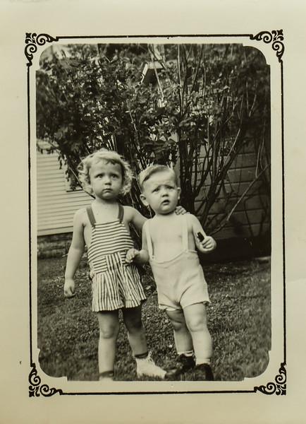 Kathy and Russ C Lamson 1942