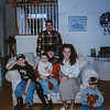 The Baughans We spent Christmas Eve with them and stopped by and C. day. They are great! Does the hair make me look like a lion!? Dec. '96. Kristen Jarvie