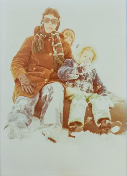 Kathy, Sara and Kristen Jarvie 1977
