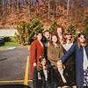 Some sisters at transfers. Sister Imeson on my left and Sis. Swain has the hand on her head. Kristen Jarvie 1995