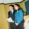 Scotty Jarvie and Kristen Lewis singing at Kristen's wedding 2001