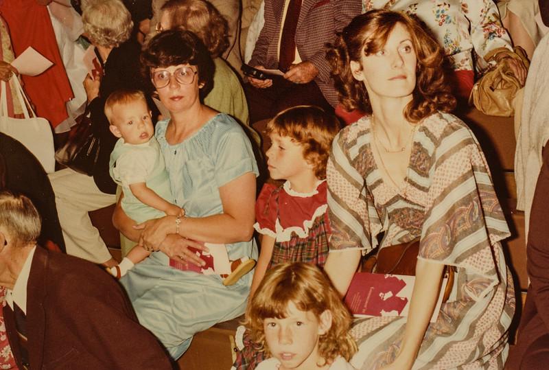 Scotty, Kathy, Kristen, Sara, Vonda  June 6 1980