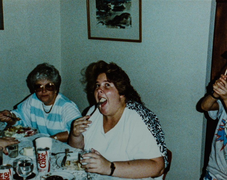 Marcia and Beth Quinney 1988
