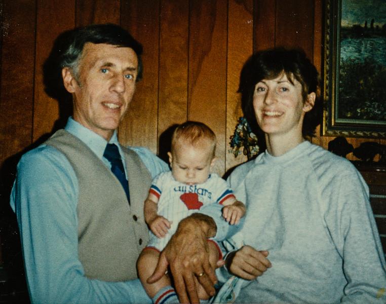 R. Scott, James, Vonda November 1984