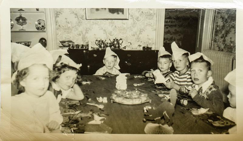Paul Lamson's birthday party