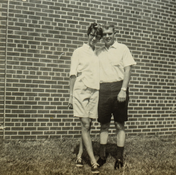 Kathy and Bill Bonnstetter 1960