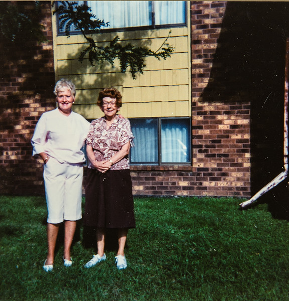 Carmen Fox and Pauline Lamson Quail Apts Waterloo, Iowa
