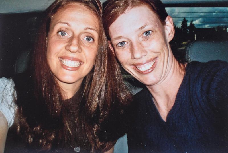 Kristen Clark and Sara Jarvie 2011
