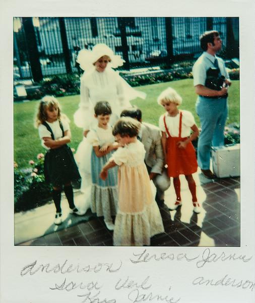 Anderson girl, Sara, Verl, Kris, Teresa, Anderson girl