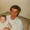 Micheala and Grandpa Scott Jarvie 1989