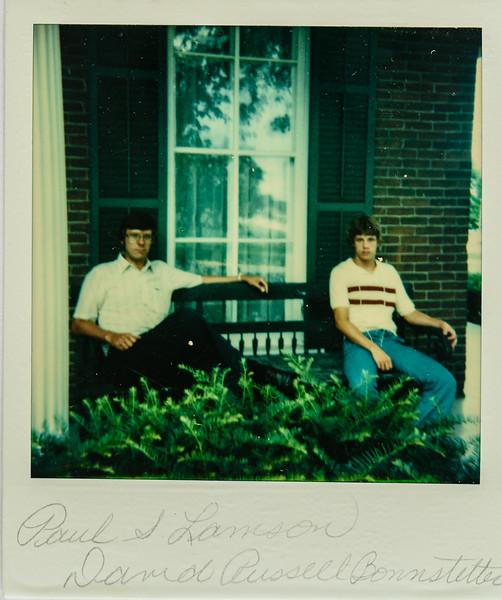 Paul S. Lamson, David Russell Bonnstetter 1978