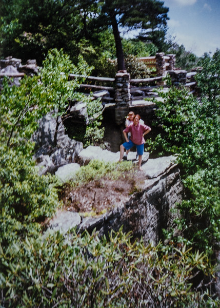 Sister Kelly and Sister Jarvie at Coopers Rock