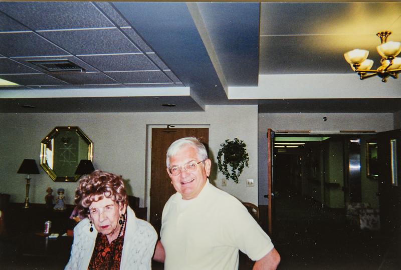 8.18.2000 Pauline Lamson and Jon Schrag at the Russell Laqmson Museum