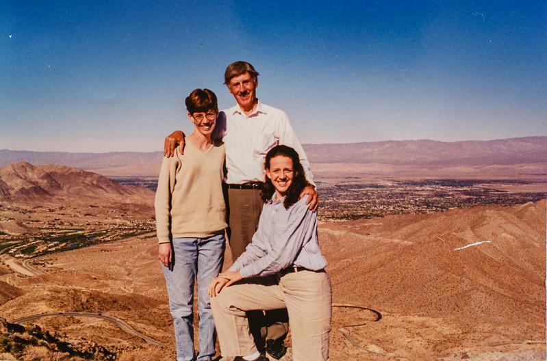 Sara, Dad, Kris
