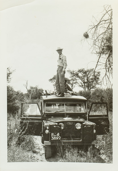 Scott Jarvie on Land Rover 1965