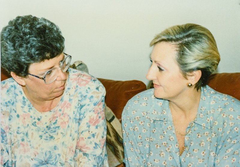 Kathy Jarvie and Joy Bonnstetter