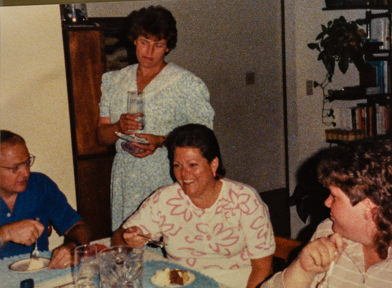 Bill and Linda Myers, Linda LeCompte, Beth Quinney