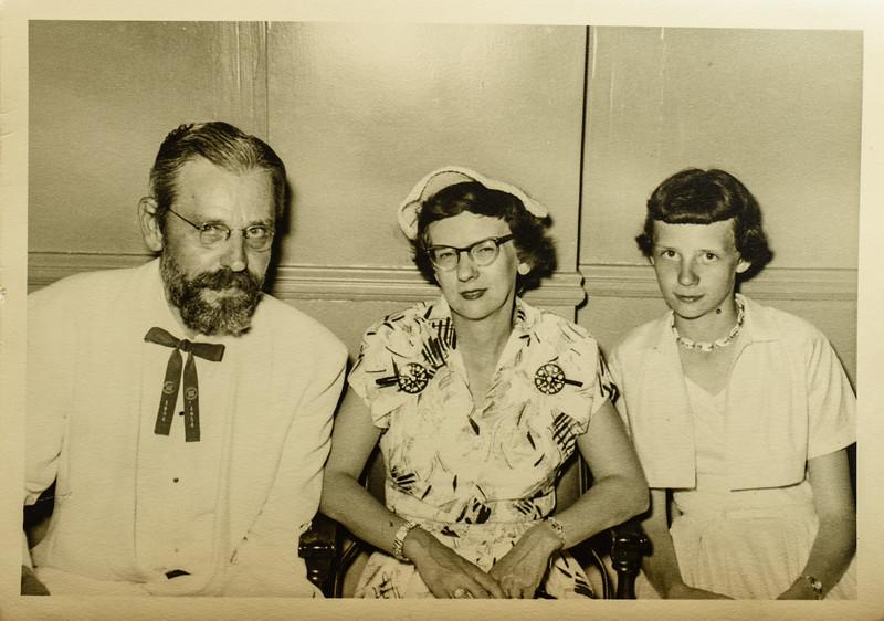 Russell, Pauline, Kathy Lamson