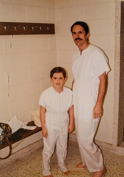 Remington and Jay May 11, 1998 Baptism Chula Vista 3rd ward California