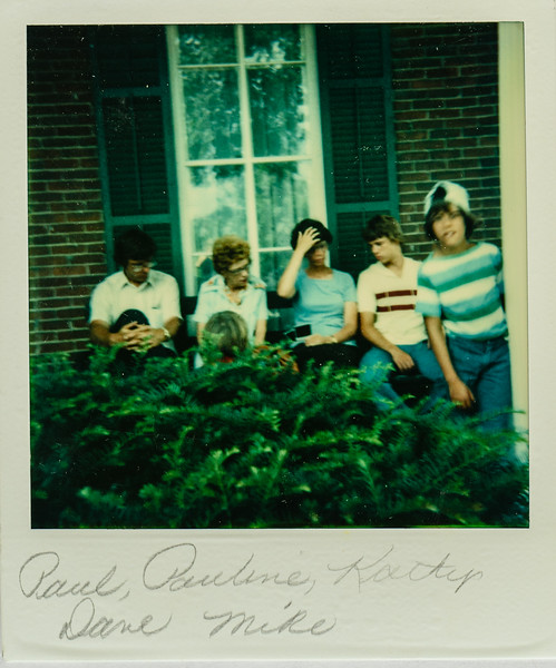 Paul, Pauline, Kathy, Dave, Mike 1978