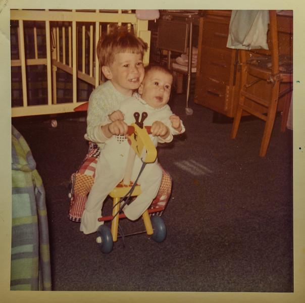 July 1972 Jeffrey Aaron 2 years and Deborah Anne 5 months