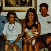 Russell C, Pauline, Heidi, Russ Jr. Bethany 1992