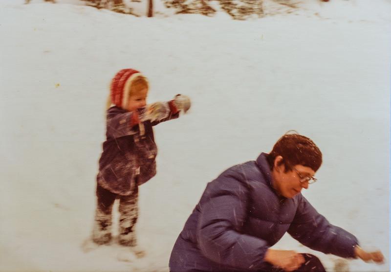 Kristen Jarvie and Kathy Jarvie 1977