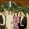 Verl, Jay, Vonda, Jeff at Jay's Wedding 1987