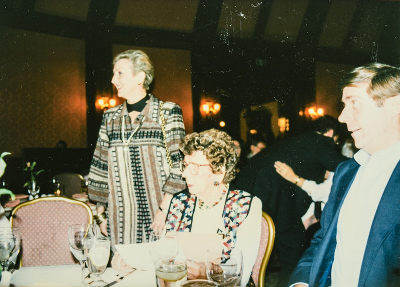 Joy Bonnstetter, Nana, Paul Lamson at the Hotel Del Coronado