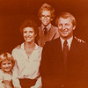 Larry, Martha Knief and kids