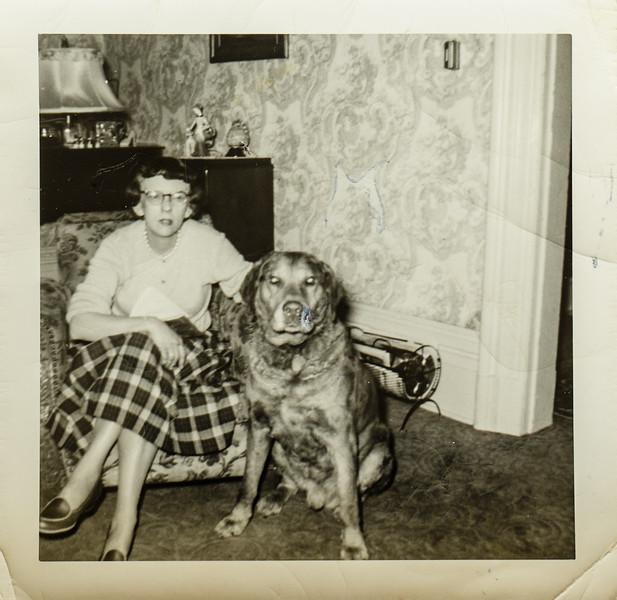 Pauline Lamson and Romeo favorite dog