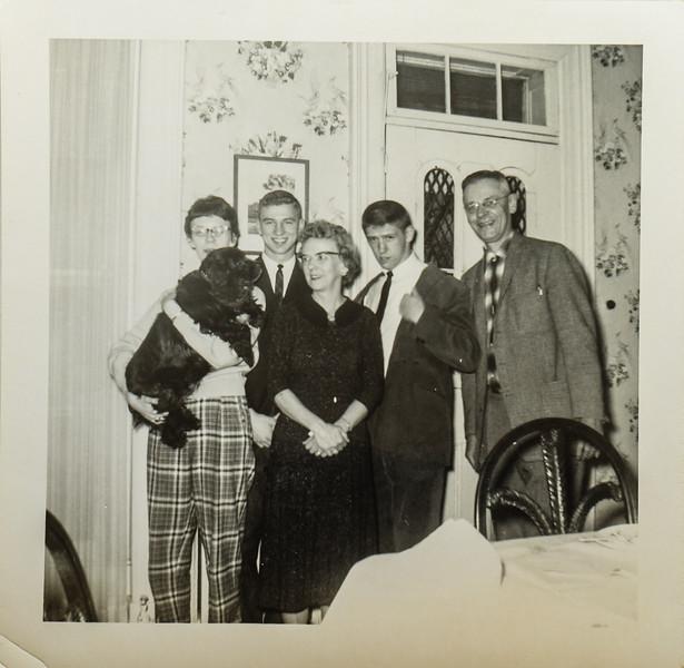 Kathy Lamson, Larry Knief, Pauline Lamson, Russ Lamson, Russ O Lamson
