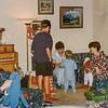 Jodi, Scotty, Kathy, Remington, Sara Christmas 1993
