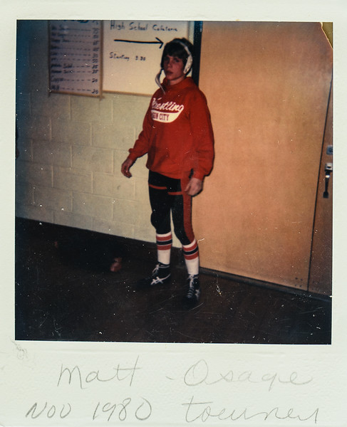 Matt Osage tourney Nov. 1980
