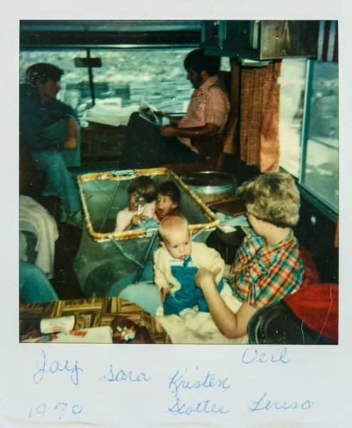 Jay, Sara, Kristen, Verl, Scottie, Teresa, 1979