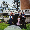 Kristen, Kathy, Sara, Dad, Vonda, Scotty, Marcia, Kate, Ian 1997