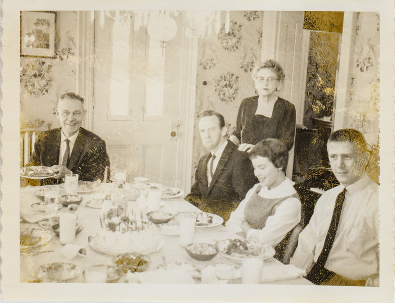 Russell O Lamson, Clinton P Shockley, Jennie Shockley, Geri Fox, Russell C Lamson, 1961